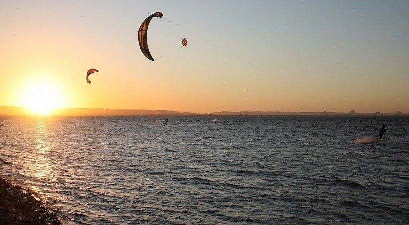 Kitesurfing, Camping and Gratitude